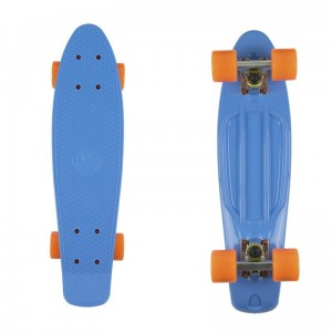 Deskorolka FISH SKATEBOARDS Blue/Orange