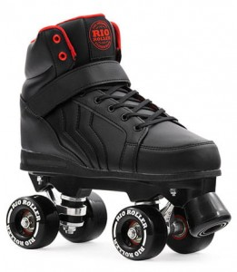 WROTKI RIO ROLLER KICKS BLACK