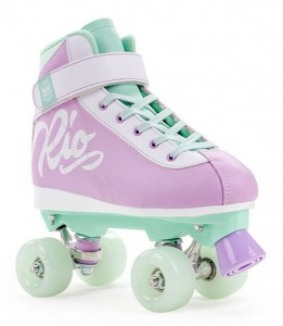 Wrotki RIO ROLLER MILKSHAKE Purple/Mint