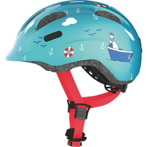 Kask dziecięcy ABUS Smiley 2.0 Turquoise Sailor M 50-55cm