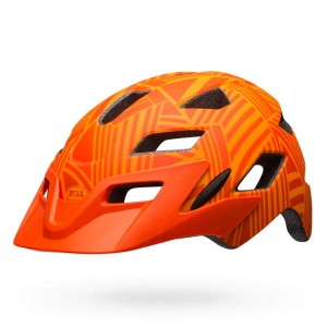 Kask BELL SIDETRACK Child ORANGE 47-54cm