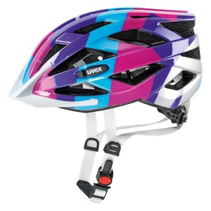Kask UVEX AIR WING 52-57cm blue/pink