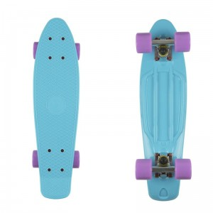 Deskorolka FISH SKATEBOARDS Summer Blue/Purple