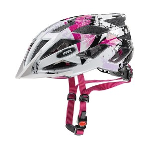 Kask UVEX AIR WING 52-57cm white/pink