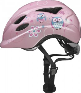 Kask ABUS ANUKY roz.M 52-57 Rose Owl
