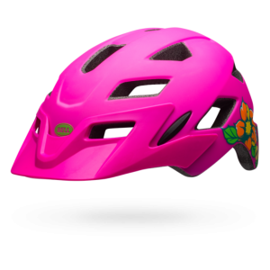 Kask BELL SIDETRACK Youth PINK 50-57cm