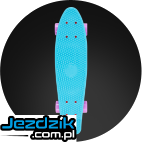 Deskorolka Fish Skateboards FISZKA kolor:  SUMMER BLUE/PURPLE