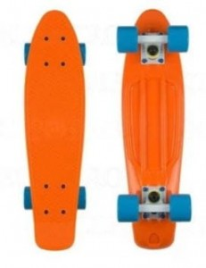 Deskorolka FISH SKATEBOARDS Orange/Blue