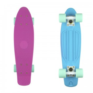 Deskorolka Fish Skateboards  Purple Blue/White/Summer Green