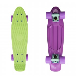 Deskorolka FISH SKATEBOARDS  Mint-Lilac/Lilac