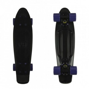 Deskorolka Fish Skateboards BLACK / PURPLE